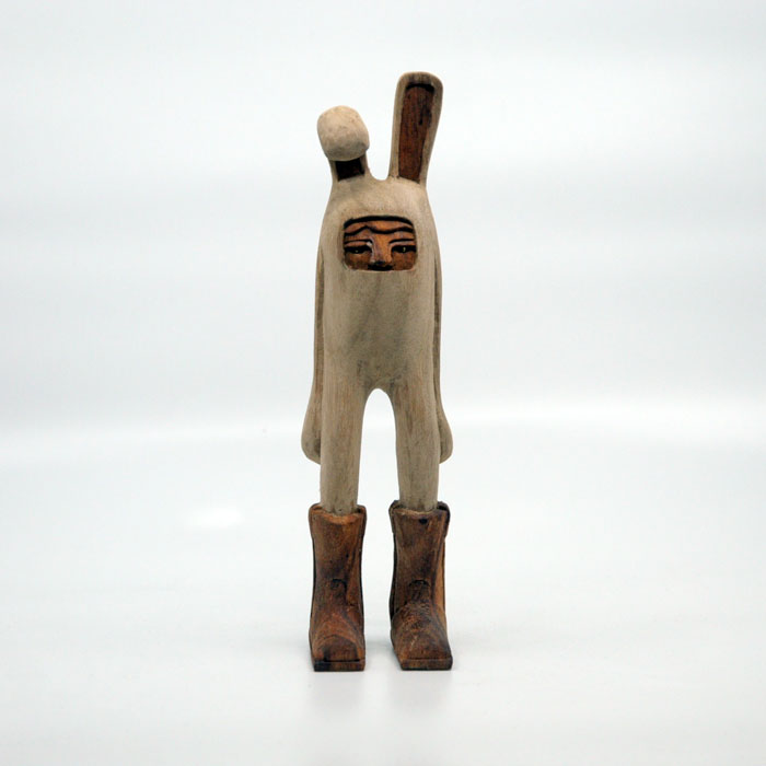 Blamo Billy 2.0 Wood Carving