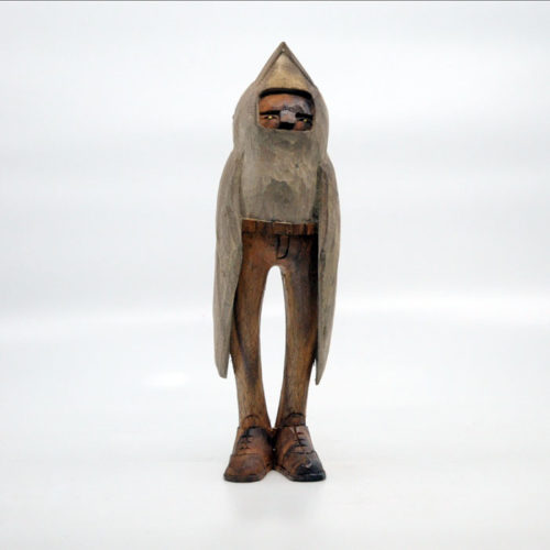 Blamo Birdman 2 Wood Carving