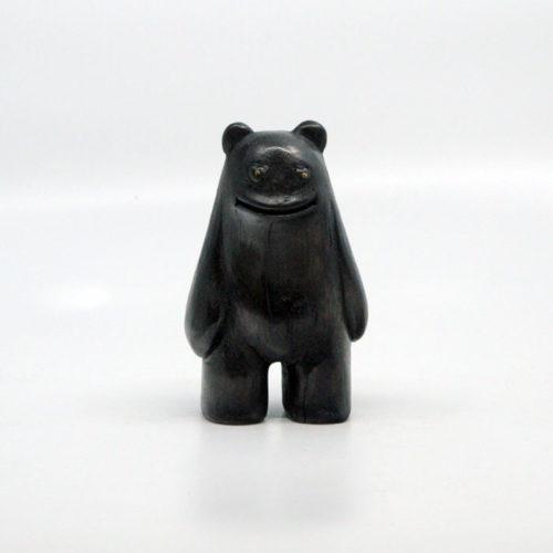 Blamo Daku Daku Black Wood Carving