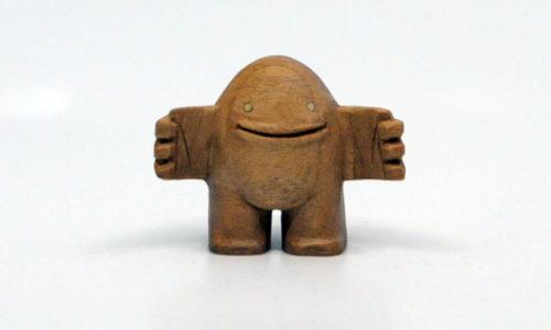 Blamo Hug Hand Carved Figure