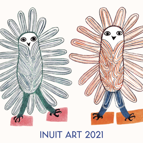 2021 Inuit Art Calendar by Dorset Fine Arts