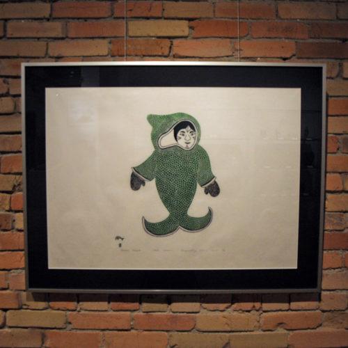 Inuit Art Print - Whale Woman - Annie Pitsiulak