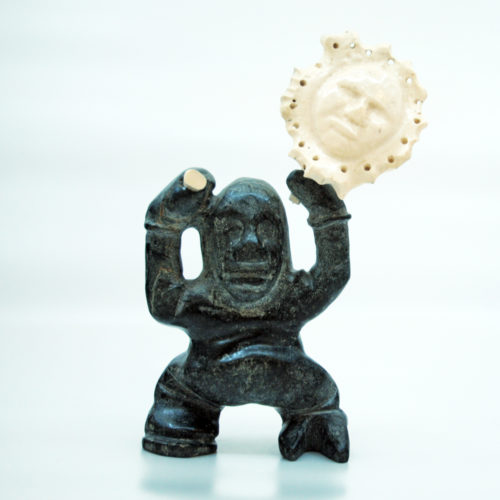 Inuit-Sculpture_Shaman_Gordon-Kyak-2