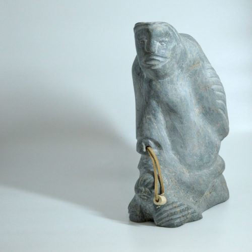 Inuit Sculpture - Shaman - Nancy Aptanak