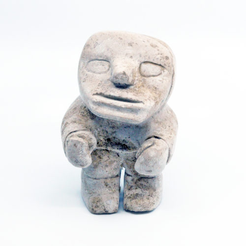 Inuk - sculpture by Jamesee Nasiapik