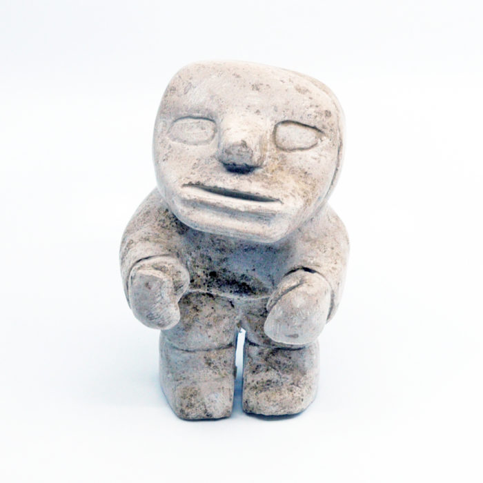 Inuk - sculpture by Jamesee Nasiapik