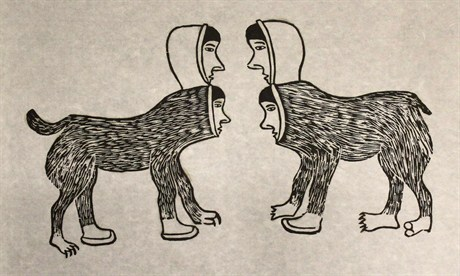 Story by Inuit Artist Simon Tookoome
