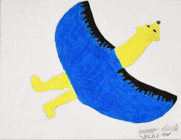 Untitled - Drawing by Saimaiyu Akesuk
