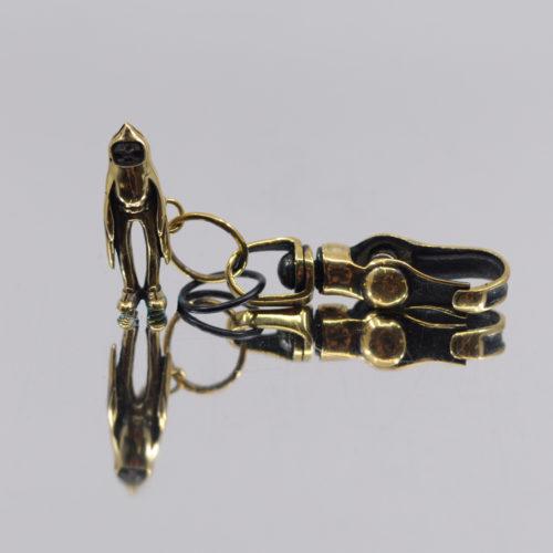 Birdman Brass Keychain by Blamo