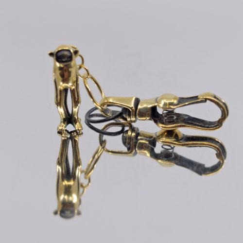 Minky Brass Keychain by Blamo