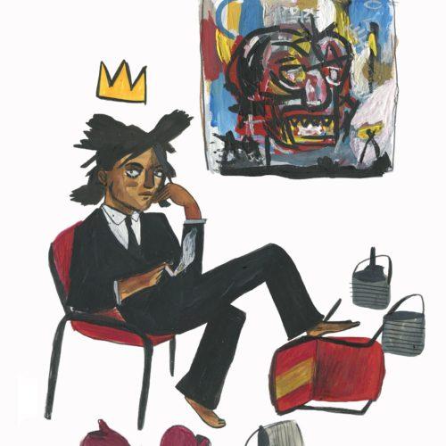 Dick Vincent Jean Michel Basquiat Print