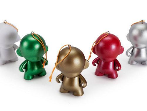 5 Piece DIY Munny Ornaments