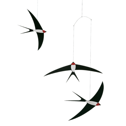 Flying Swallows 3 Mobile 024 by Flensted Mobiles