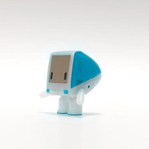 iBot G3 Bondi Blue designer art toy