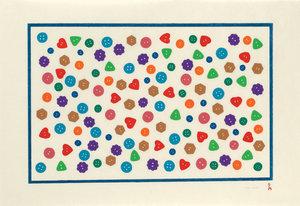 Polished Buttons limited edition Inuit art print by Nicotye Samayualie