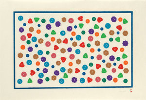 Polished Buttons - Inuit Art Print