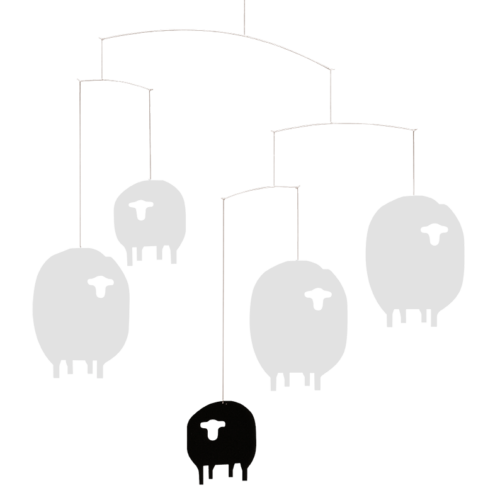 Sheep mobile by Flensted Mobiles - 107