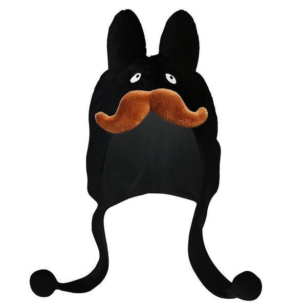 Black Stache Labbit Hat