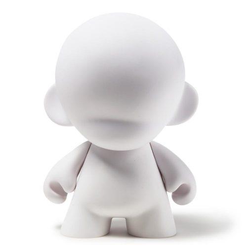 "18"" Mega Munny blank vinyl art toy by Kidrobot"