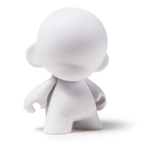 """4"""" Munny blank DIY vinyl art toy by Kidrobot"""