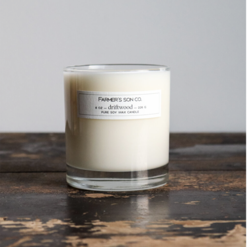 Driftwood Soy Candle by Farmer's Son Co.