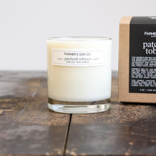 Patchouli - Tabacco Candle from Farmer's Son Co.