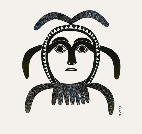 Untitled Drawing - Kingmeata Etidlooie - Dorset 023-3916