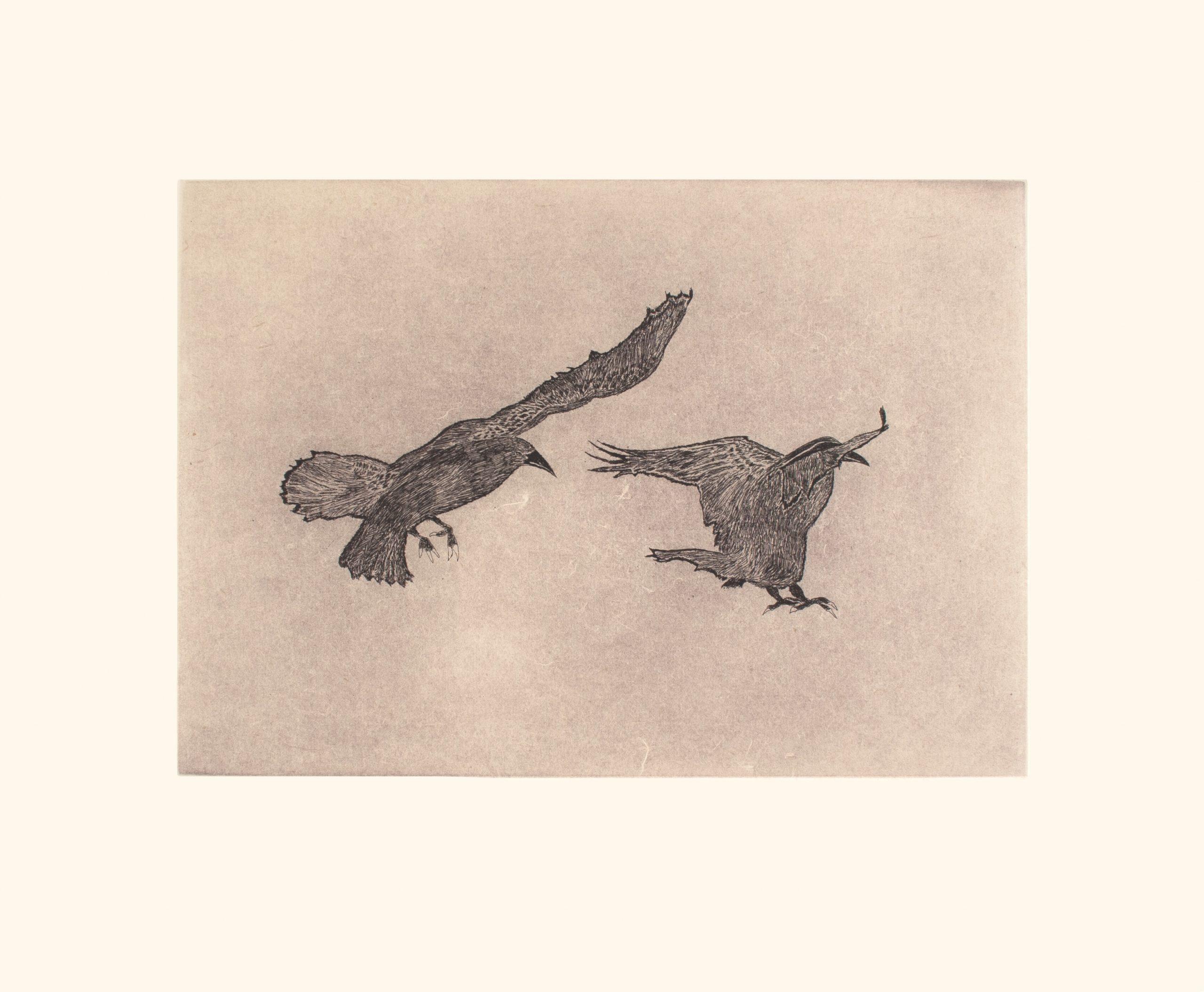 Misty Ravens by Olooreak Etungat