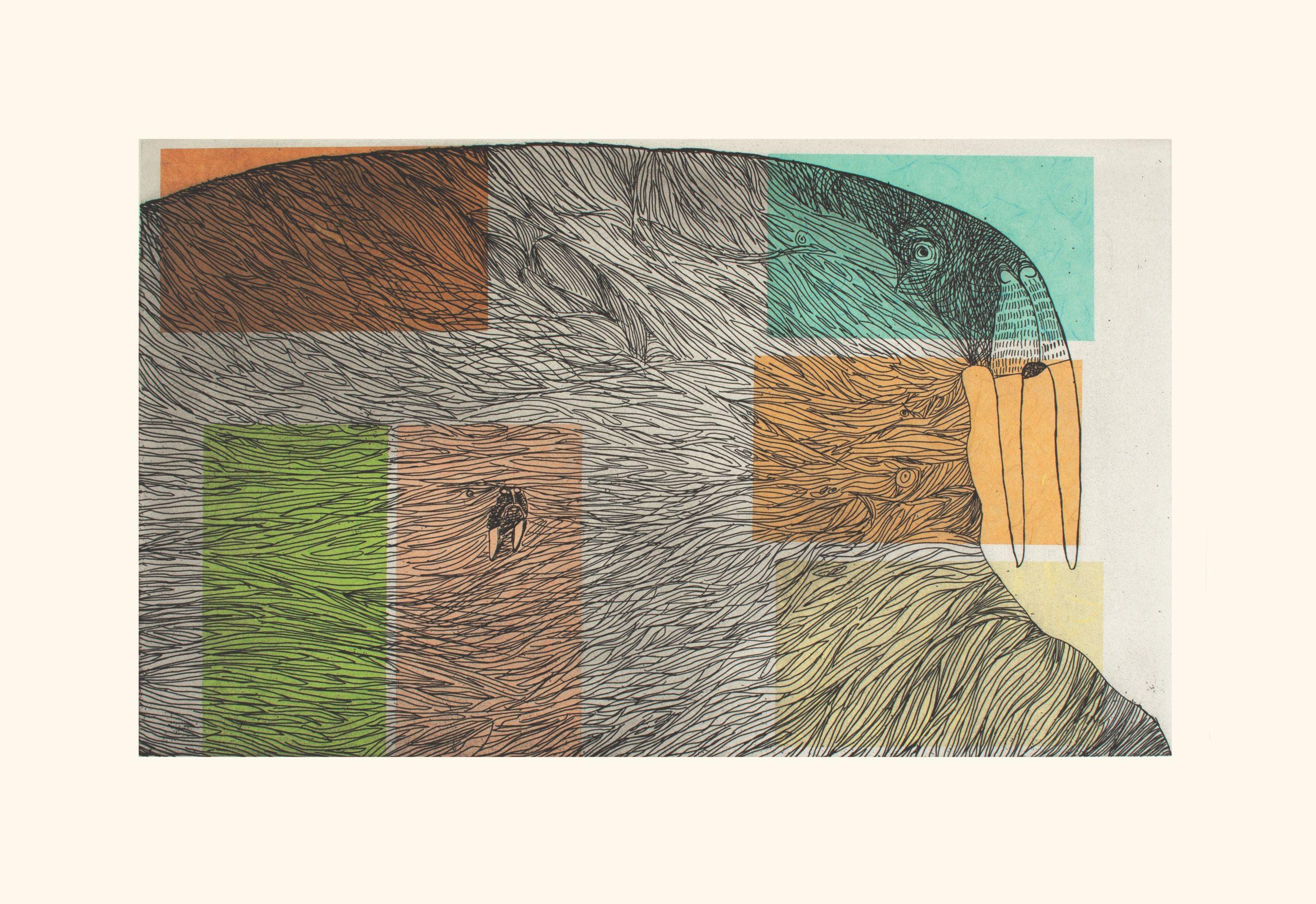 Ancestral Walrus by Ningiukulu Teevee