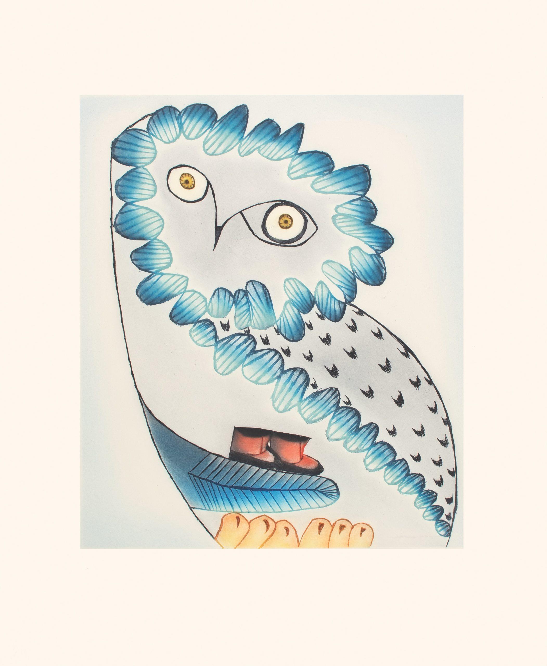 Owl's Bequest by Ningiukulu Teevee