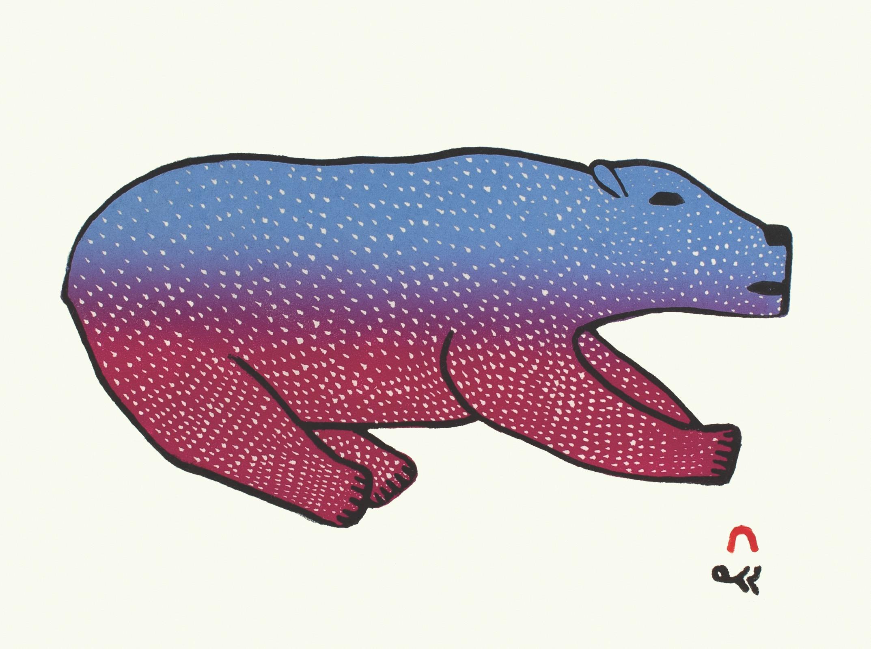 Bounding Bear - Malaija Pootoogook